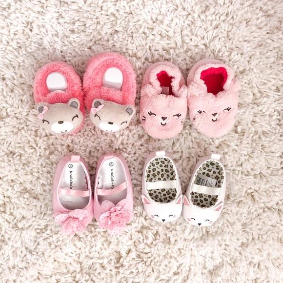 07586c164ed5c Baby girl newborn shoes